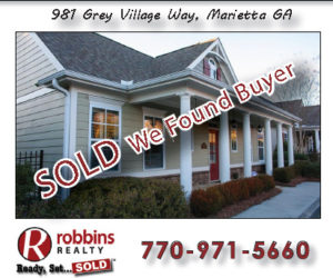 This Week! SOLD – We Found Buyers