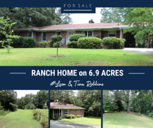 Ranch on 6.9 Acres Just Minutes to I-575 ~ Cherokee County