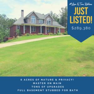 6 Acres of Nature & Privacy ~ Dallas Georgia ~ $289,380