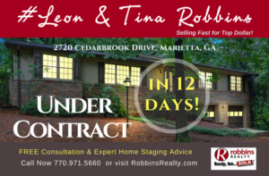 ..Another#LeonandTinaRobbinsHome Under Contract in 12 DAYS!