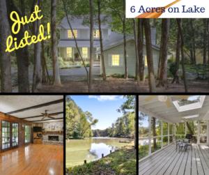 Live the Luxury Lake Life~ Cobb County ~ 6 Acres
