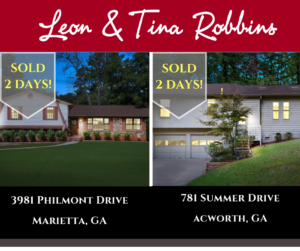 JUST SOLD by Leon & Tina Robbins